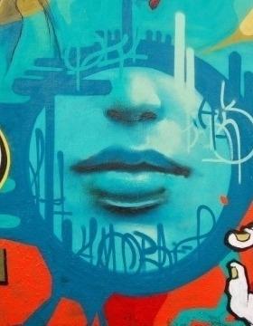 Photo of graffiti art